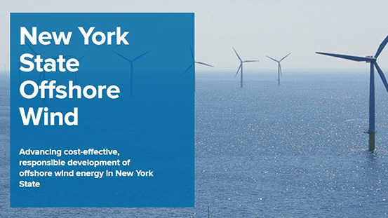 Learn about New York's Offshore Wind Program on August 4, 2020