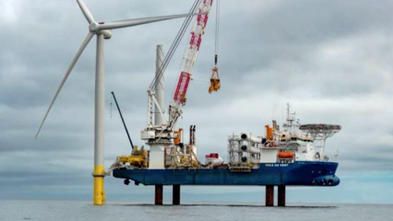 First Offshore Wind Turbine Goes Up on Federal Lease